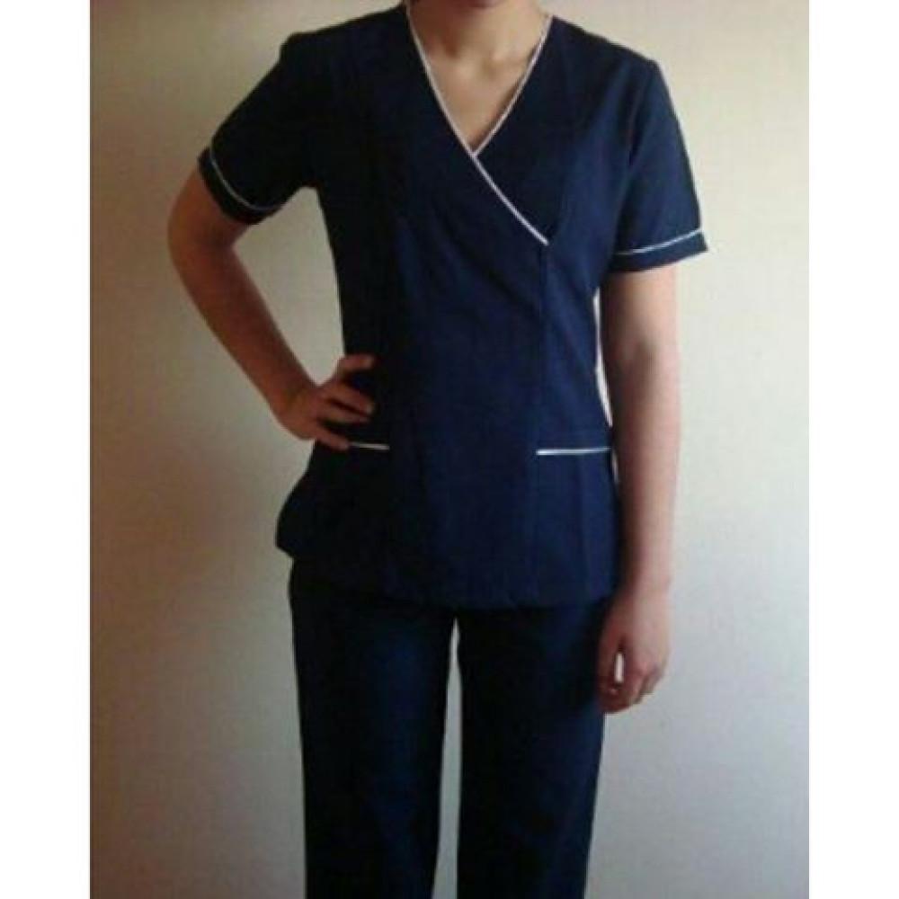 Doktor Kıyafeti Lacivert Takım