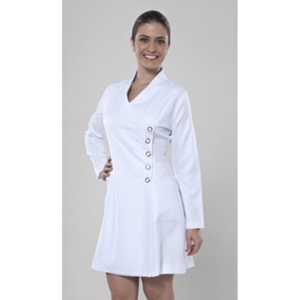 Estetisyen Elbisesi Beyaz