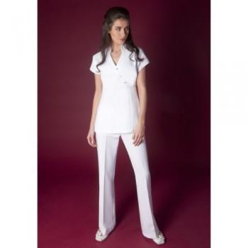 Beyaz Hemşire Forması Takımı